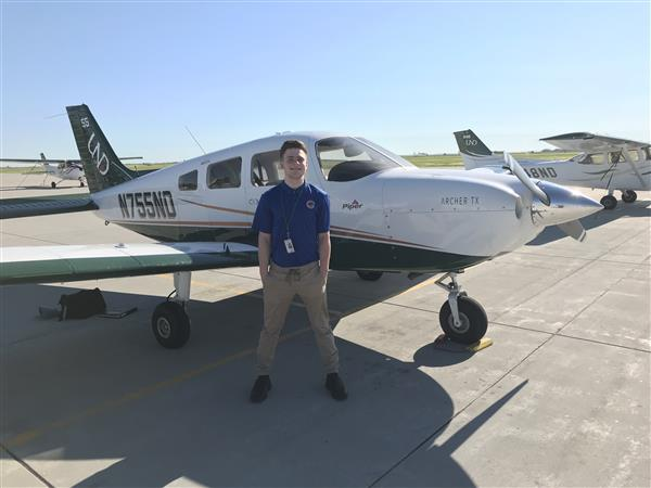 Streamwood High School Graduate Takes to the Skies