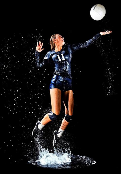 A portrait of Lighthouse Christian School volleyball player Chole Gomez.