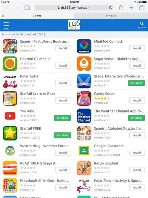 Instructional Technology / iPad App Catalog