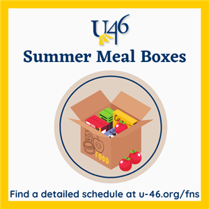 2021 Summer Meal Boxes Graphic