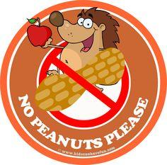 no peanuts please