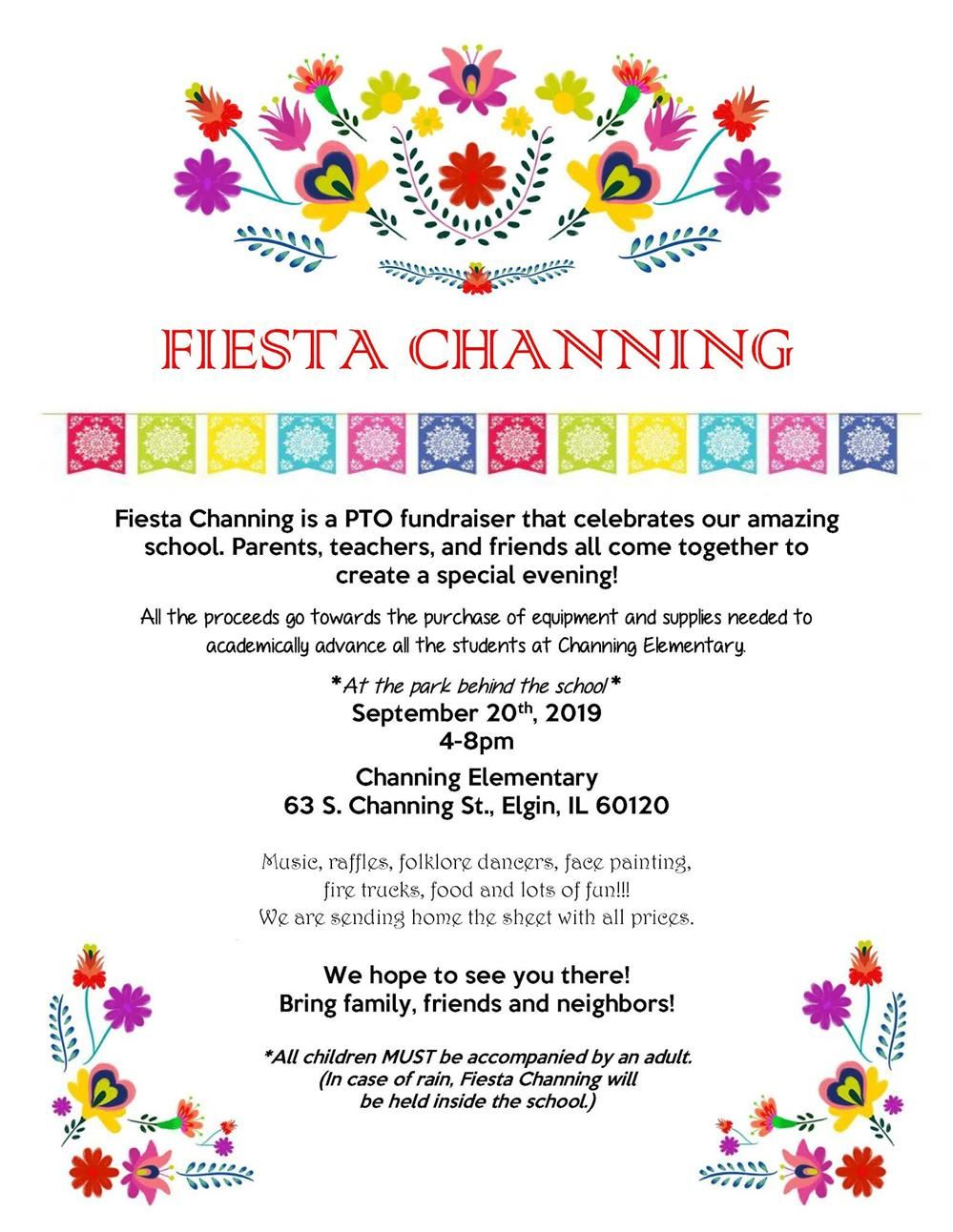 Fiesta Channing Flyer