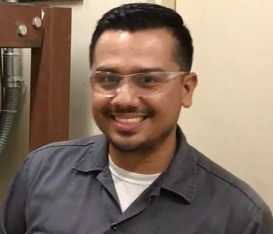 Reyes Estrada Jr., Geothermal/HVAC Mechanic