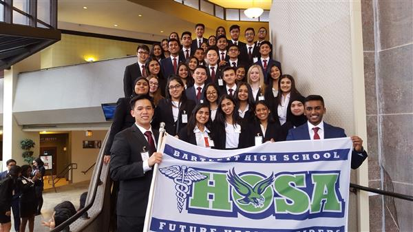 Bartlett High HOSA Group