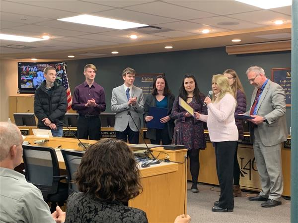 U-46 Student Musicians and School Counselors Honored with 'Accent on Achievement'