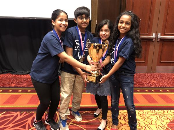 U-46 Students Head to Future Problem Solvers International Bowl in Massachusetts