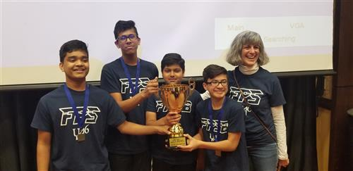 The award-winning 8th graders on the Future Problem Solvers team