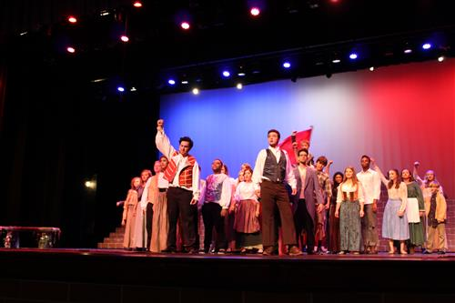 U-46 Students Storm the Barricades with Summer 'Les Miserables' Production