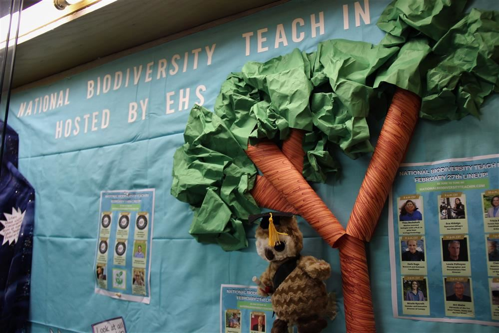 Elgin High School to Host Annual National Biodiversity Teach-In
