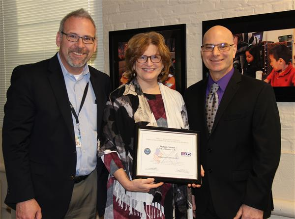 Larkin H.S. Teacher and Air Force Major Recognizes Melanie Meidel as a `Patriotic Employer'