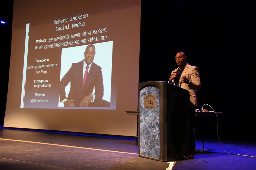 Motivational Speaker to Talk to Students and Families at Larkin High