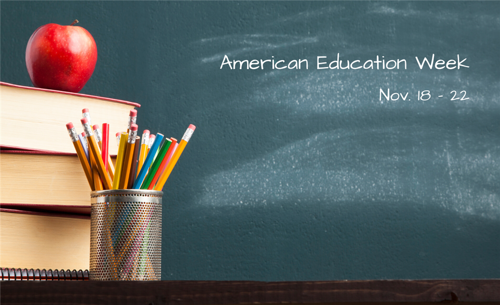 American Education Week Banner