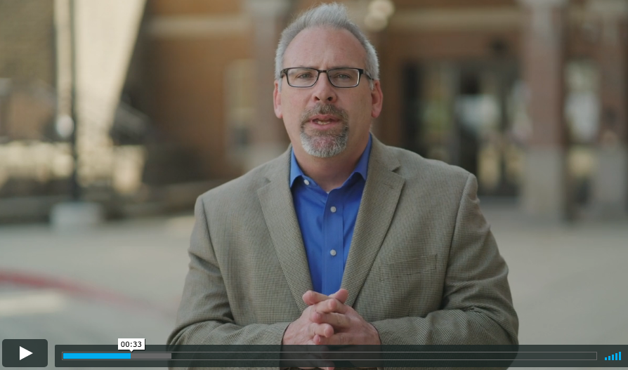 A Video Message to Students from Superintendent Sanders